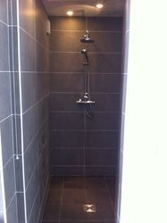 Walk in shower fitted