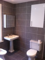 Bathroom suite fitted
